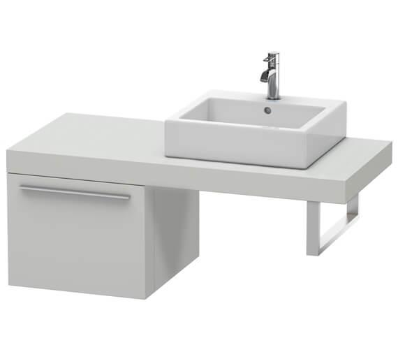 Alternate image of Duravit Fogo 500 x 550mm White Matt Cabinet For Consoles