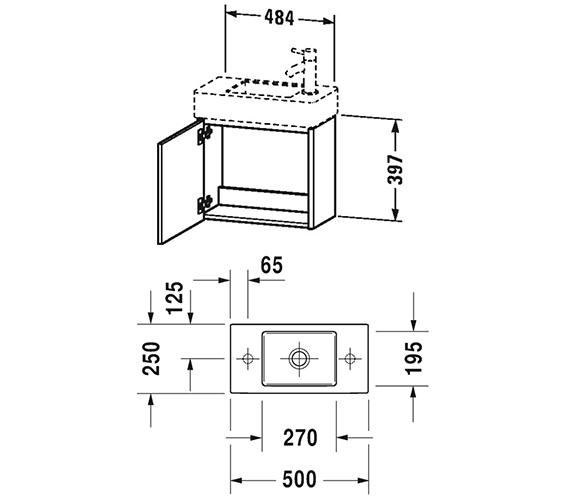 Technical drawing QS-V99051 / XS4091L1818