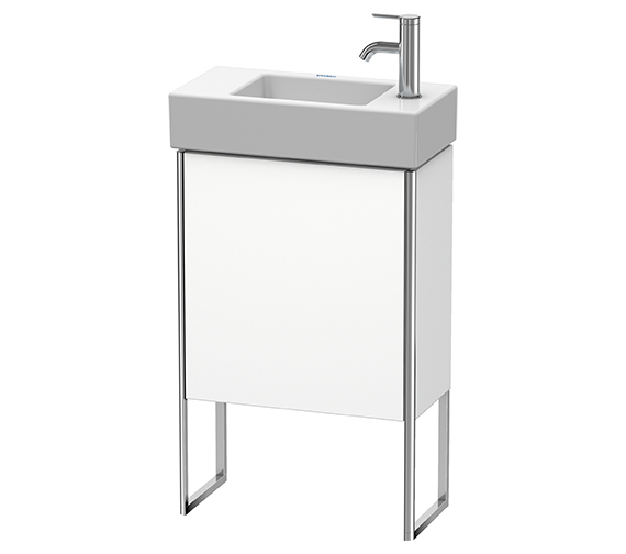 Duravit XSquare 1 Left-Hand Hinged Door Floor-Standing Vanity Unit 484 x 240 x 731mm