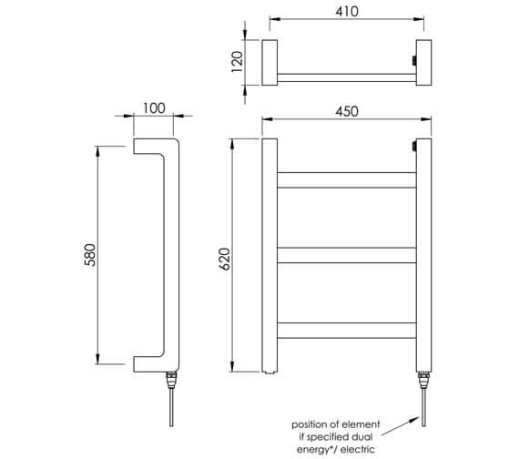 Technical drawing QS-V88574 / CN009A MS062045CP