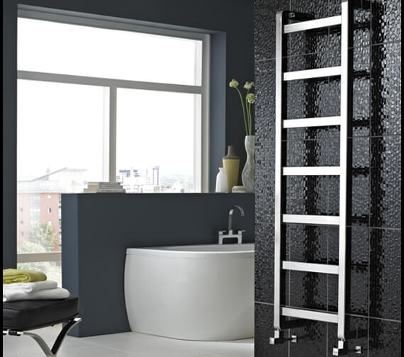 Alternate image of Vogue Boxa 450mm Width Mildsteel Straight Towel Rail