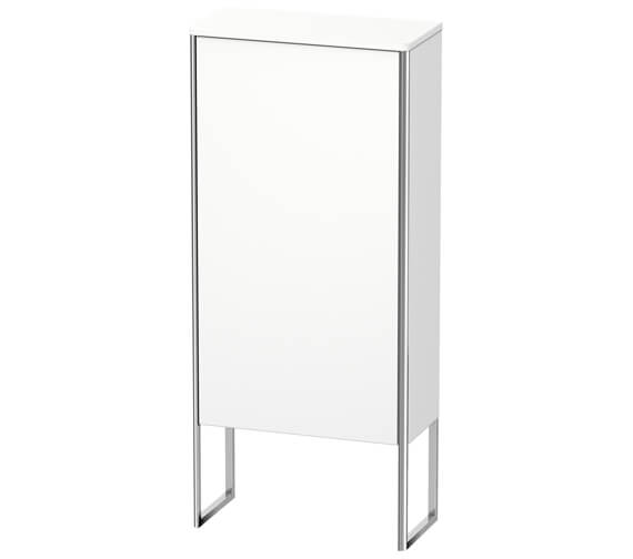 Duravit XSquare 500 x 236mm 1 Door Floor Standing Semi-Tall Cabinet