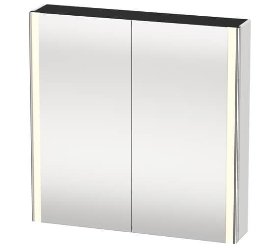 Duravit XSquare 800 x 156mm 2 Door Mirror Cabinet
