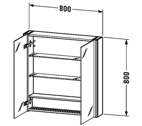 Technical drawing QS-V100011 / XS711201818