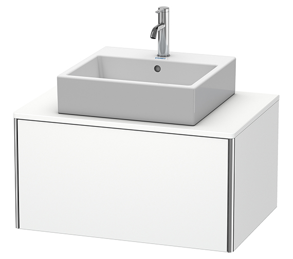 Duravit XSquare 800 x 548mm Wall-Mounted 1-Drawer Vanity Unit For Console