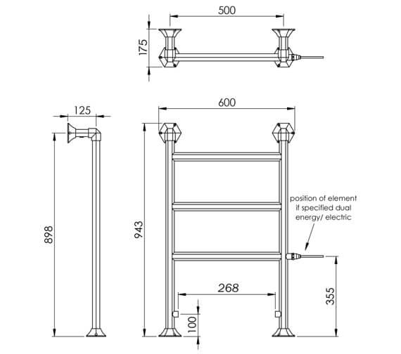 Technical drawing QS-V88578 / OG011B BR094060CP