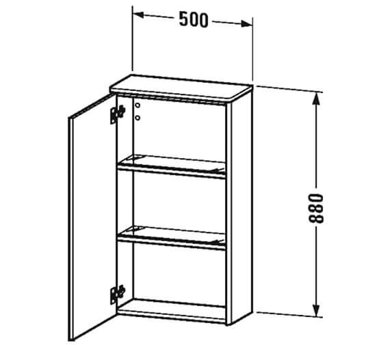 Technical drawing QS-V100010 / XS1303L1818