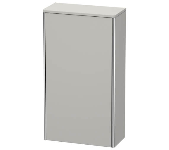 Additional image of Duravit XSquare 500 x 236mm 1 Door Wall Mounted Semi Tall Cabinet
