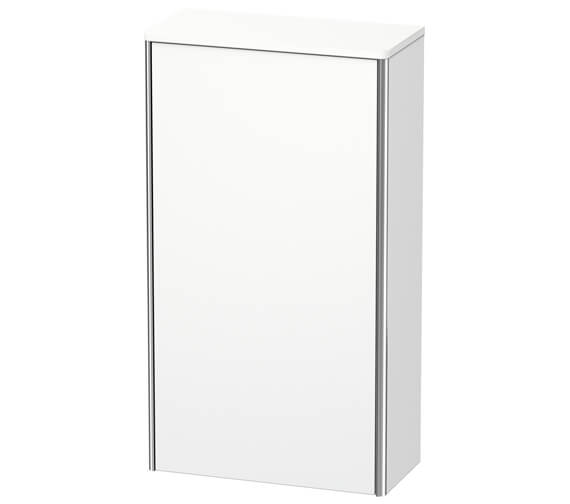 Duravit XSquare 500 x 236mm 1 Door Wall Mounted Semi Tall Cabinet