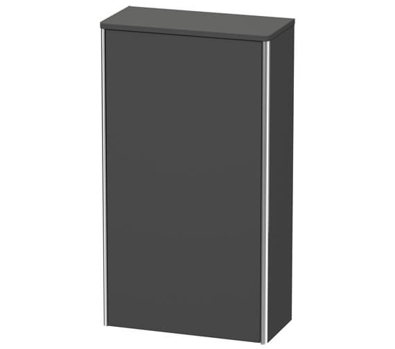 Alternate image of Duravit XSquare 500 x 236mm 1 Door Wall Mounted Semi Tall Cabinet