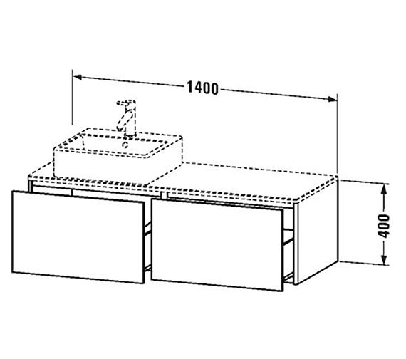 Technical drawing QS-V99065 / XS4903L1818