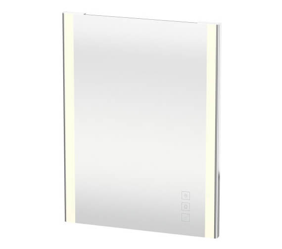 Duravit XSquare 600 x 33mm Mirror With Lighting