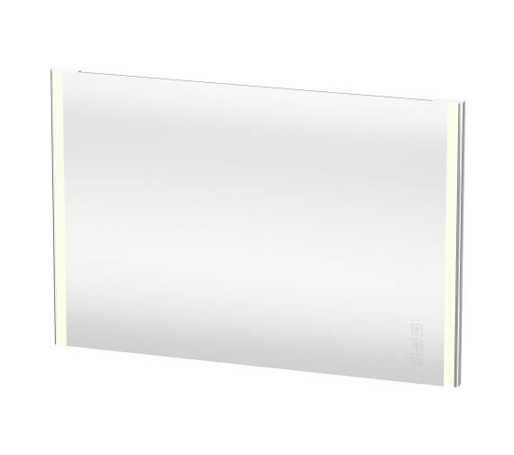 Alternate image of Duravit XSquare 600 x 33mm Mirror With Lighting