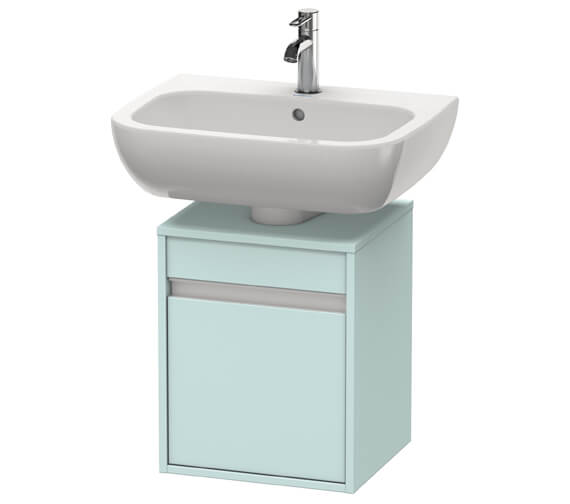 Additional image of Duravit Ketho 400mm Single Door Wall-mounted Vanity Unit For D-Code Basin
