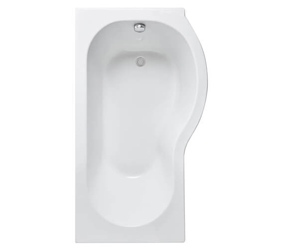 Additional image of Nuie Premier 1500mm P-Shaped Shower Bath
