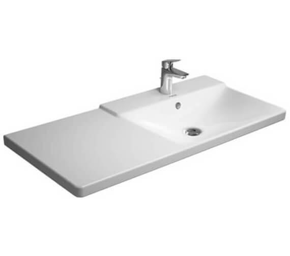 Additional image of Duravit P3 Comforts 1050mm Asymmetric Basin