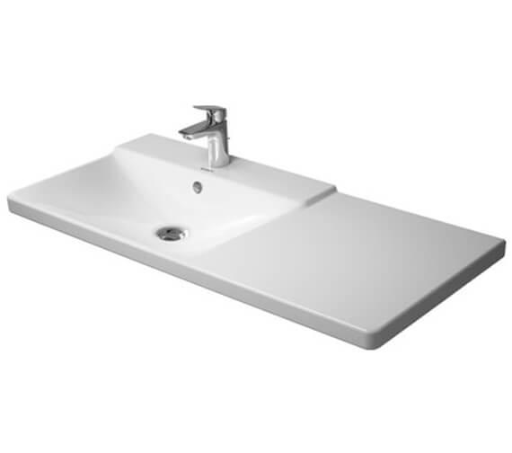 Alternate image of Duravit P3 Comforts 1050mm Asymmetric Basin