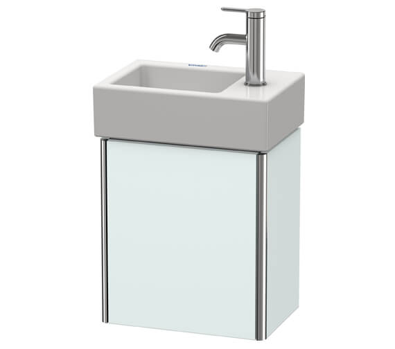 Additional image of Duravit XSquare Wall-Mounted 364 x 240 x 397mm 1 Left-Hand Hinged Door Vanity Unit With Basin