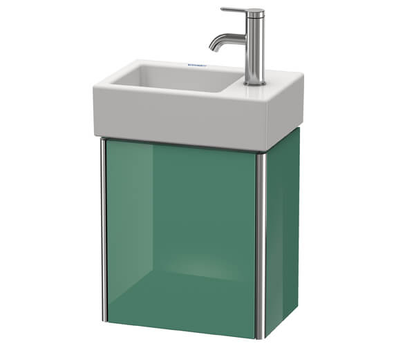 Alternate image of Duravit XSquare Wall-Mounted 364 x 240 x 397mm 1 Left-Hand Hinged Door Vanity Unit With Basin