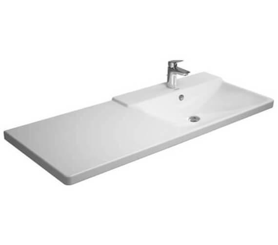 Additional image of Duravit P3 Comforts 1250mm Asymmetric Basin