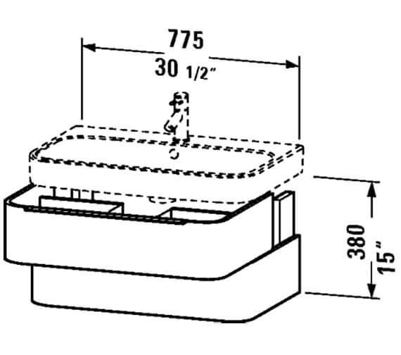 Technical drawing QS-V81906 / H2636302222