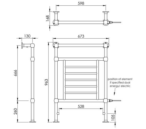 Technical drawing QS-V88586 / LG003 MS0963673CP