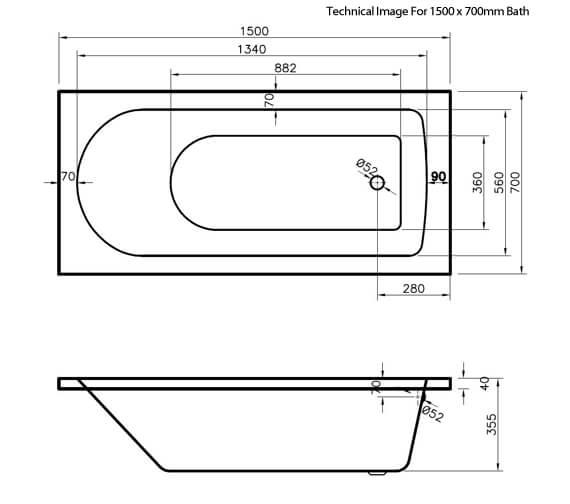 Technical drawing QS-V73401 / NBA605