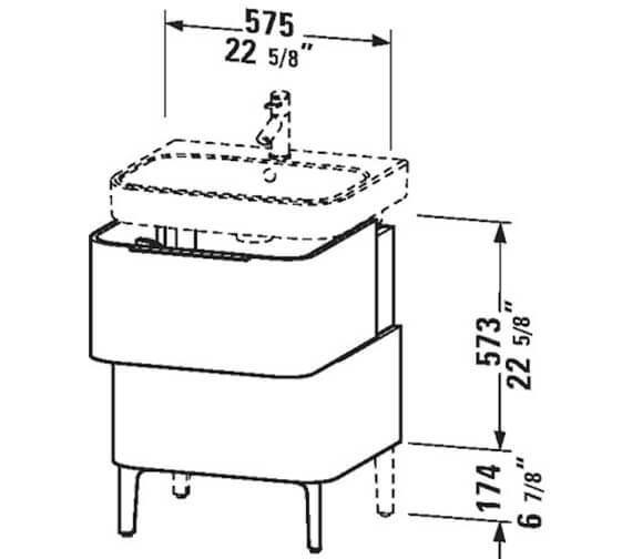 Technical drawing QS-V63771 / H2637102222
