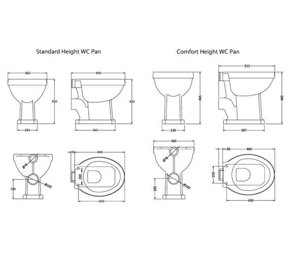 Technical drawing QS-V25997 / CCR023