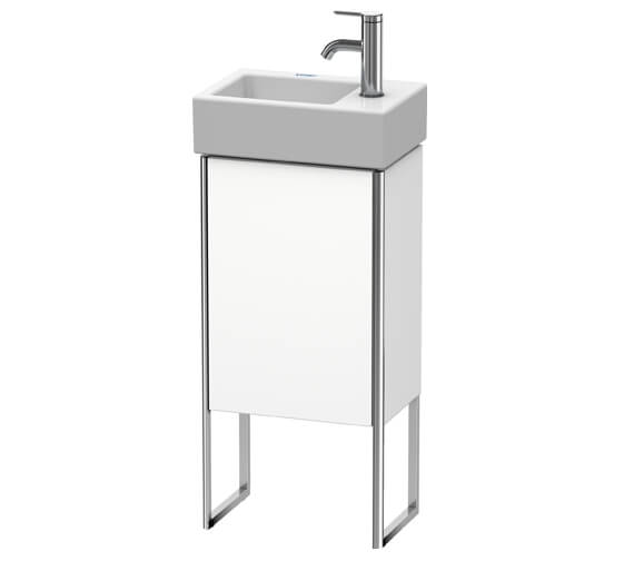 Duravit XSquare 1 Left-Hand Hinged Door 364 x 240 x 731mm Floor-Standing Vanity Unit With Basin