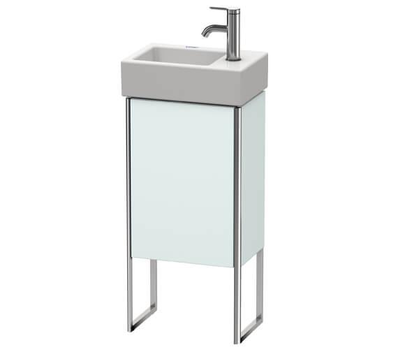 Additional image of Duravit XSquare 1 Left-Hand Hinged Door 364 x 240 x 731mm Floor-Standing Vanity Unit With Basin