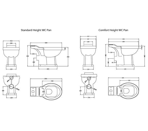 Technical drawing QS-V75574 / CCR014