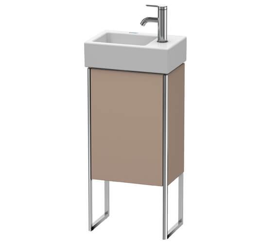 Alternate image of Duravit XSquare 1 Left-Hand Hinged Door 364 x 240 x 731mm Floor-Standing Vanity Unit With Basin