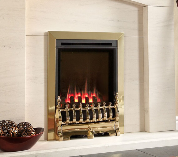 Flavel Windsor Traditional HE Slimline Inset Gas Fire