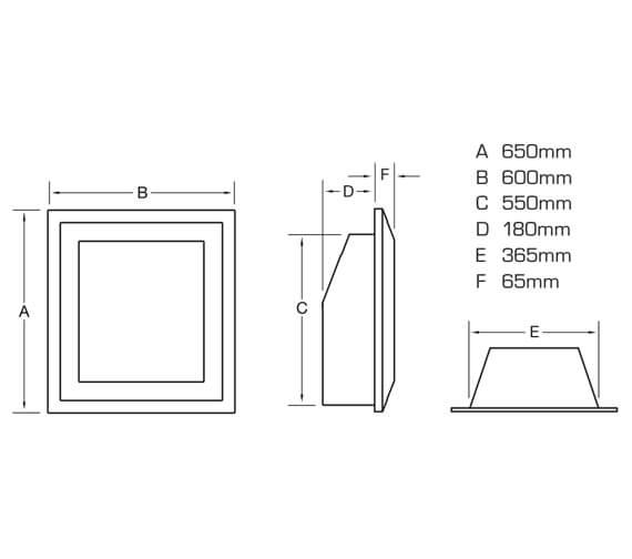 Technical drawing QS-V24025 / FHDC00RN3