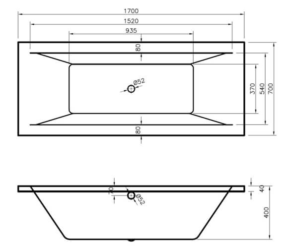 Technical drawing QS-V76506 / BDE006
