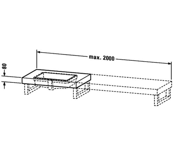 Technical drawing QS-V4503 / FO090C02222