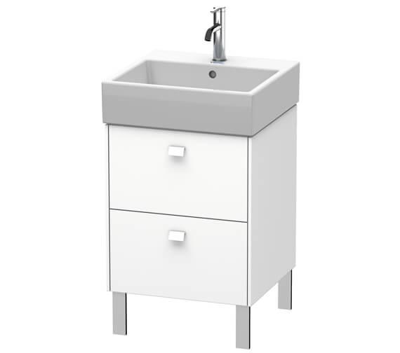Duravit Brioso Floor Standing 2 Drawer Vanity Unit For Vero Air Basin