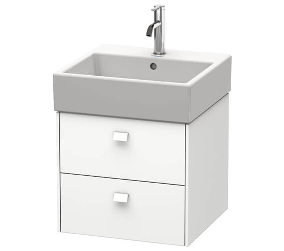 Duravit Brioso Wall Mounted 2 Drawer Vanity Unit For Vero Air Basin