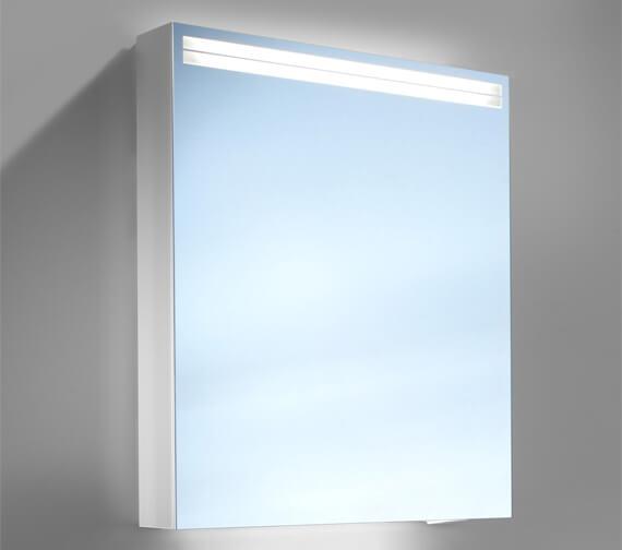 Additional image of Schneider Arangaline 1 Door Mirror Cabinet With LED