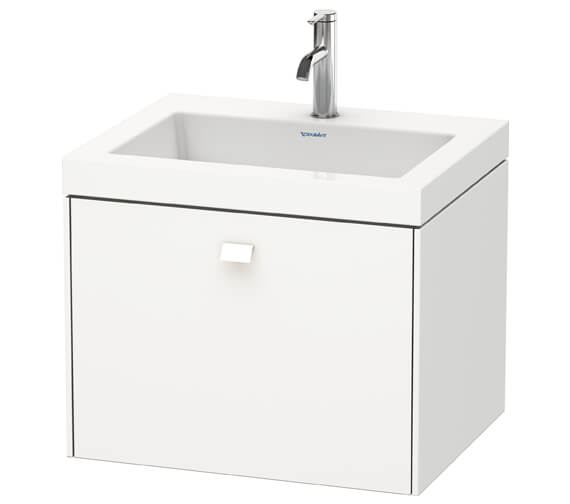 Duravit Brioso Wall Mounted 1 Drawer Vanity Unit With C-Bonded Basin
