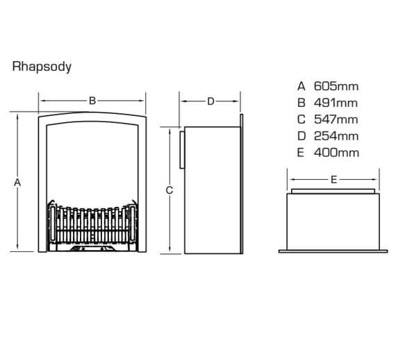 Technical drawing QS-V22004 / FDCN45SN