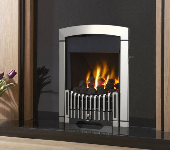 Additional image of Flavel Rhapsody Plus Slide Control Open Fronted Gas Fire