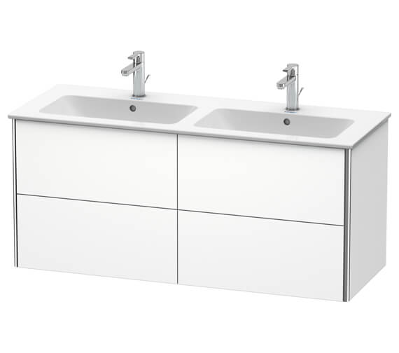 Duravit XSquare Wall Mounted 4 Drawer Vanity Unit 1280 x 478 x 560mm