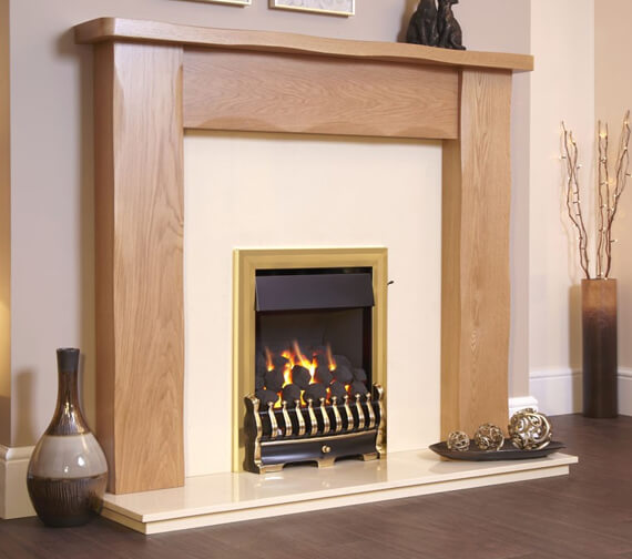 Additional image of Flavel Richmond Plus Full Depth Open Fronted Gas Fire