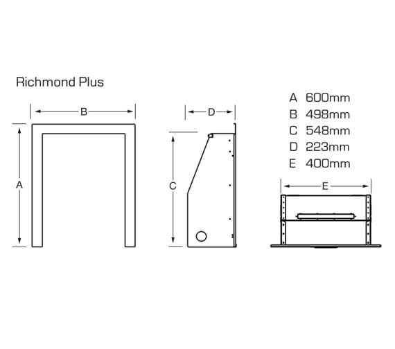 Technical drawing QS-V39779 / FOPC37MN