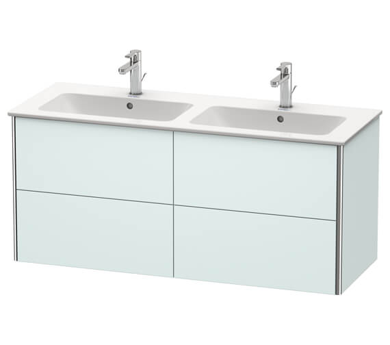 Additional image of Duravit XSquare Wall Mounted 4 Drawer Vanity Unit 1280 x 478 x 560mm