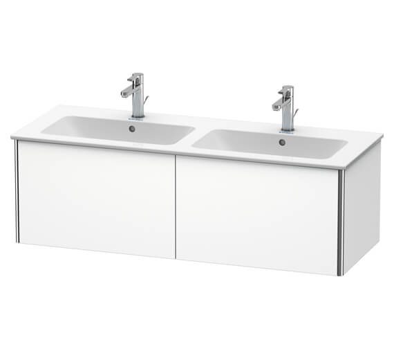 Duravit XSquare Wall Mounted 2 Drawer Vanity Unit 1280 x 478 x 400mm