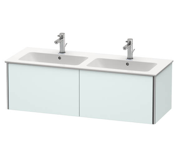 Additional image of Duravit XSquare Wall Mounted 2 Drawer Vanity Unit 1280 x 478 x 400mm