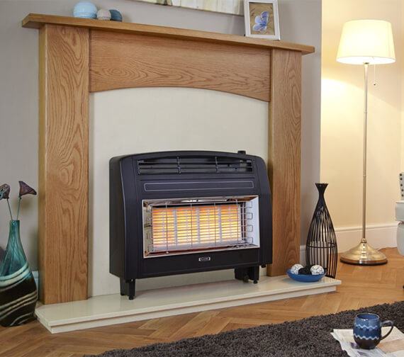 Flavel Strata Electronic Top Control Outset Gas Fire